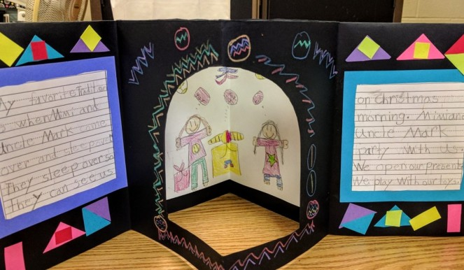 Bookmaking with First Graders