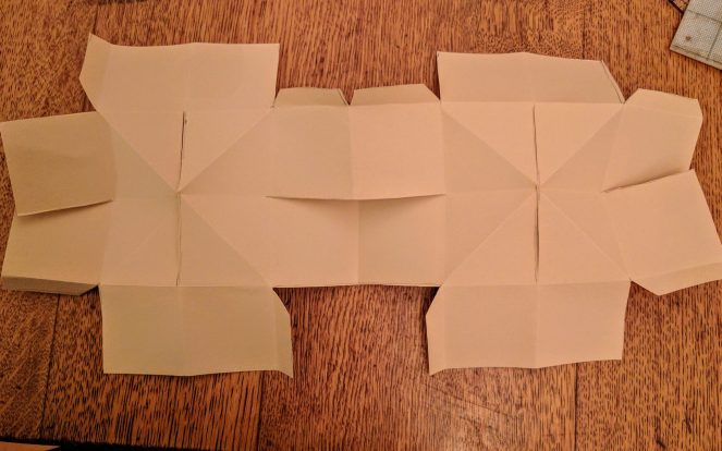 Folding and Cuttin