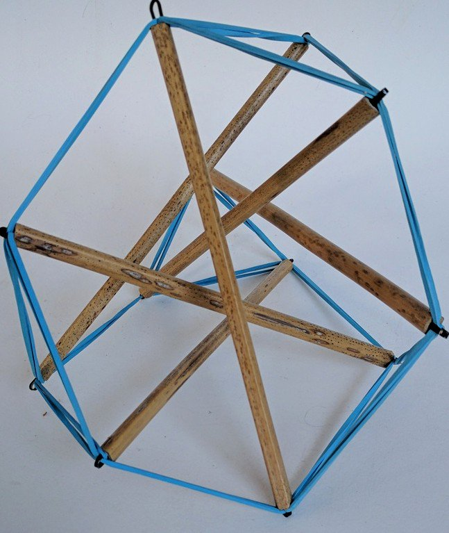 truncated tensegrity tertrahedron