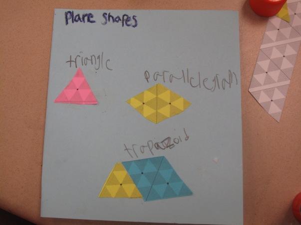 Triangle plus parallelogram makes a trapezoid