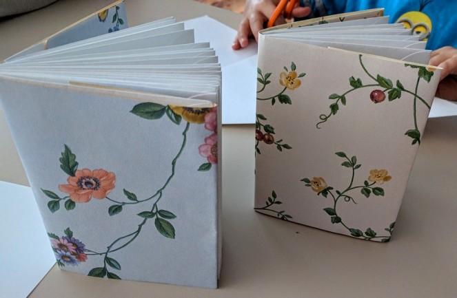 First Graders, envelope book