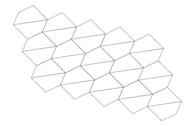 Wonky Quadrilateral net