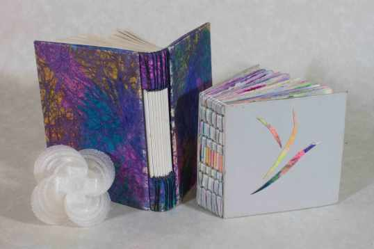 My books with a 3D piece by Dan Anderson