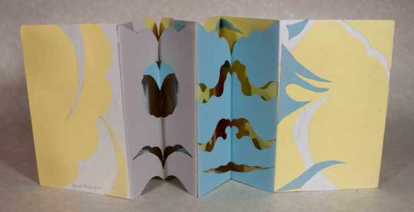 Accordion Book with Fancy Spine