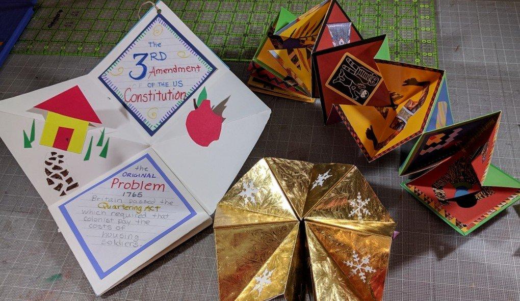 Unfolding Mathematics with Unit Origami: Betsy Franco, Diane ... | 591x1020
