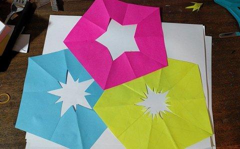 Stars in Pentagons