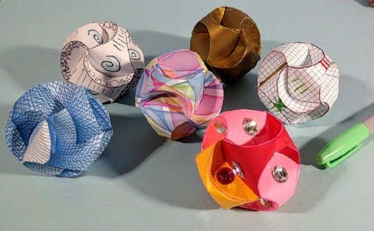 A Bevy of Paper globes