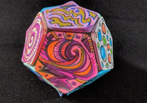 Doodling on a Dodecahedron