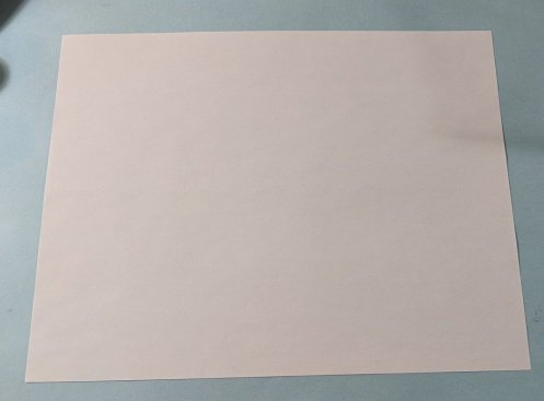 plain piece of copy paper