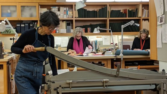 In the Bindery at the MET