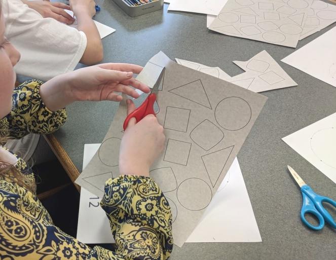 Dividing up a circle project