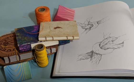 Knots & Threads & Books
