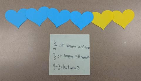 Fraction Museum hearts