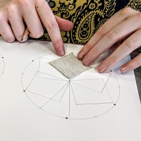 Rotating Shaper around a circle