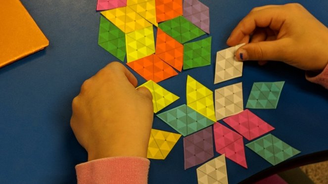 playing with Rhombi