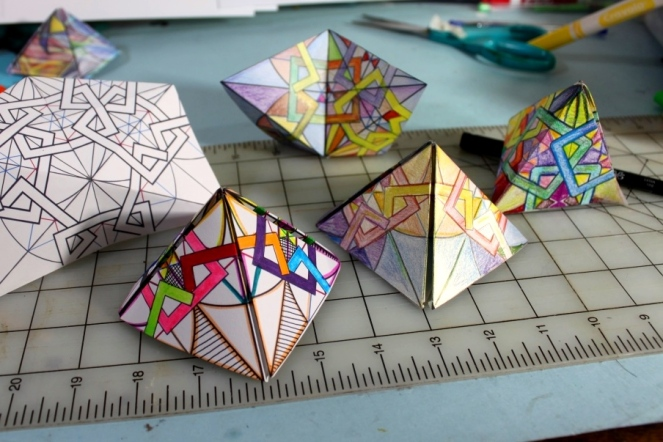 Tetrahedrons and other shapes