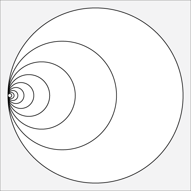 Golden Ratio Circles