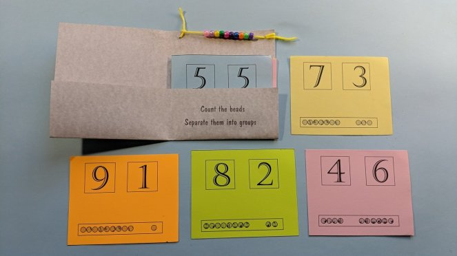 Bead counting book