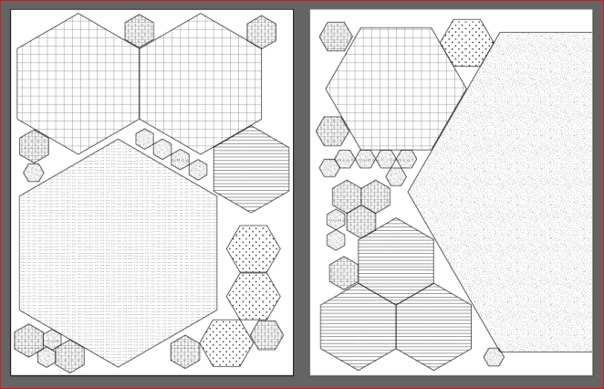 Sample of hexagon file