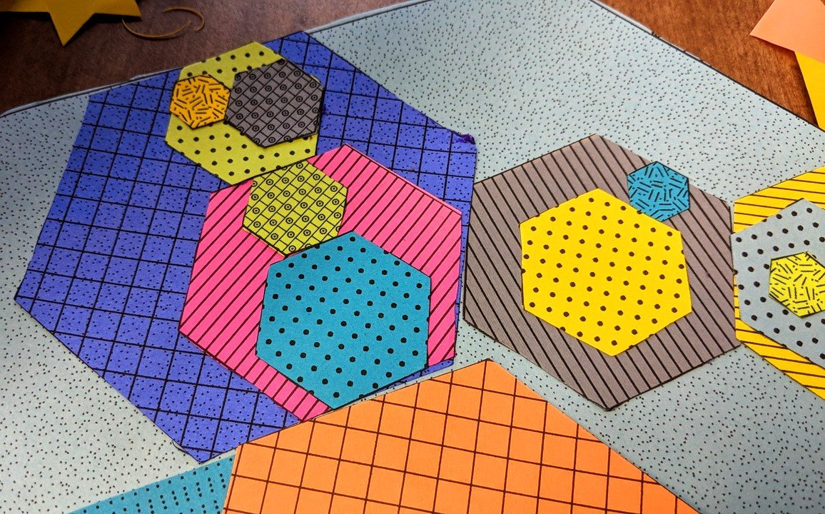 Hexagons and the Golden Ratio