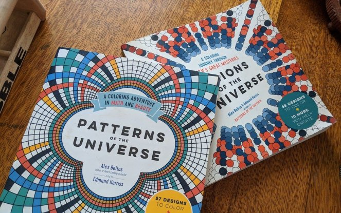 Patterns of the Universe and Visions of the Universe by Alex Bellos and Edmund Harriss