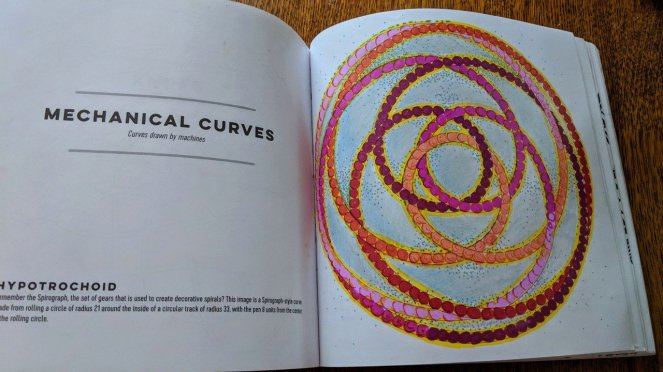 Mechanical Curves, Patterns of the Universe by Alex Bellos and Edmund Harriss