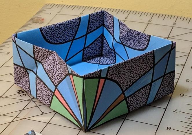 Origami Masu box