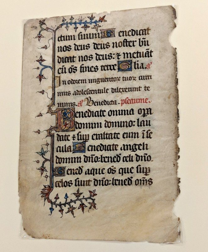 Another Illuminated Manuscript, Cary Collections, RIT
