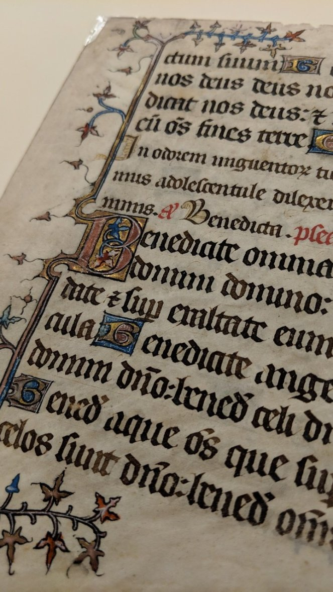 Illuminated Manuscript, Cary Collections, RIT