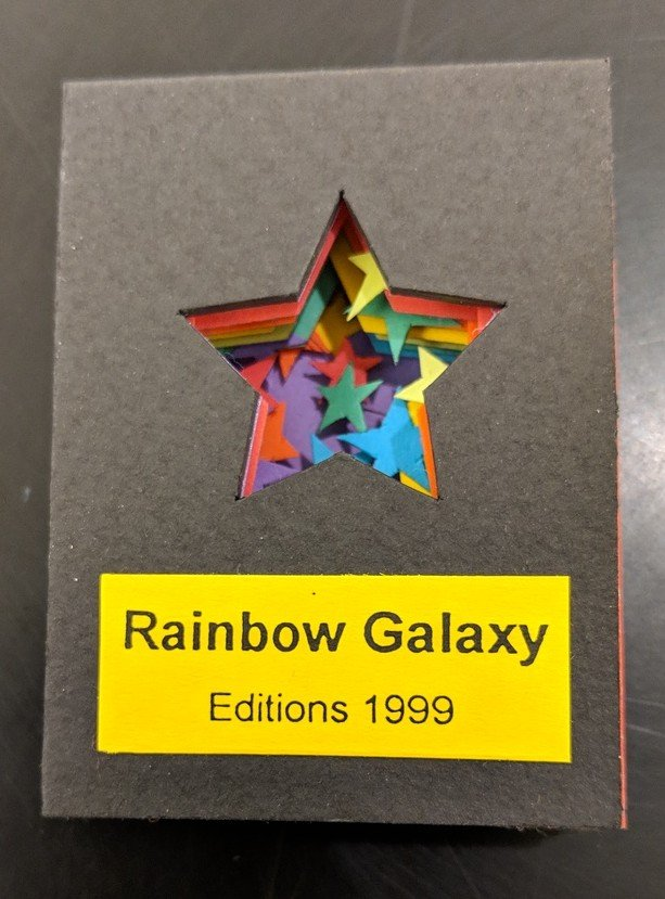 Rainbow Galaxy, Ed Hutchins