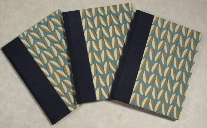 Pamphlet bound, Asahi bookcloth, Axel Salto papers