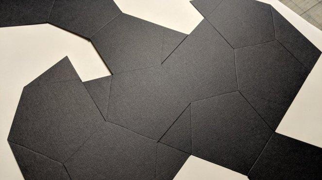 Black Paper Shape