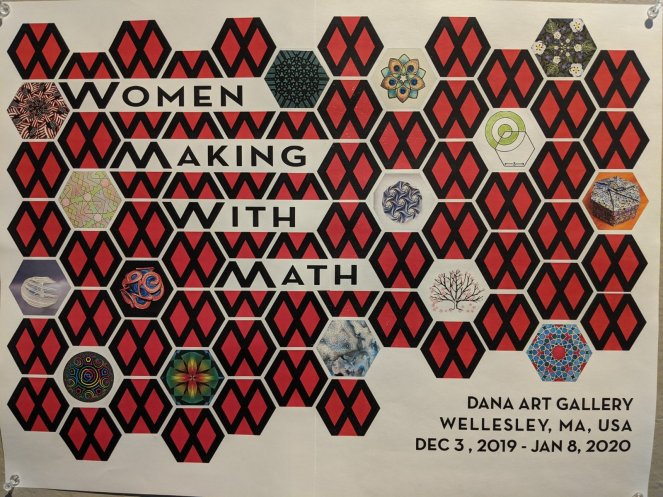 Women Making With Math at Dana Hall School, Wellesley MA