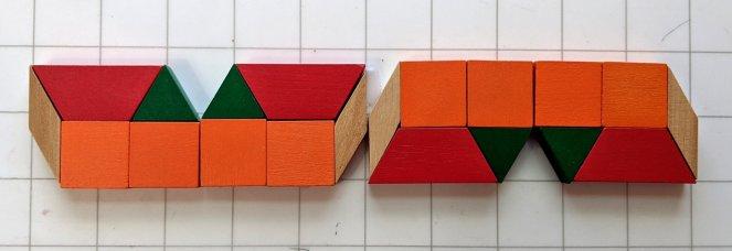 Frieze Symmetry with Pattern Blocks