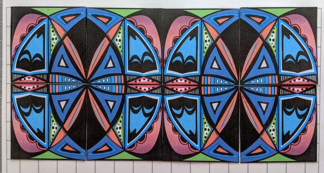 Symmetry Tiles p2mm
