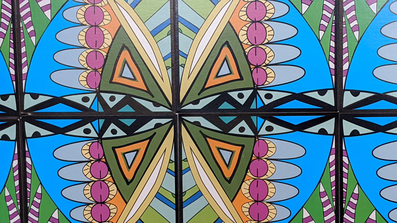 My Symmetry Tiles, designed by Paula Krieg