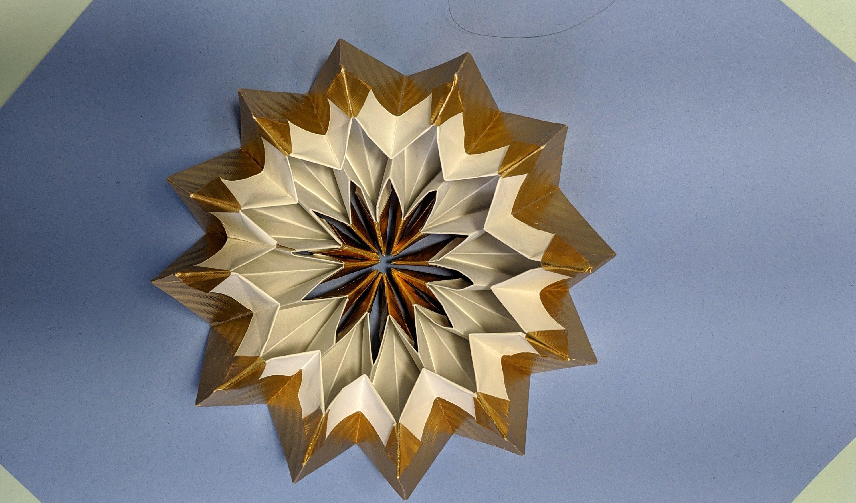 6 Piece Star Of David | Sterne falten anleitung, Origami stern ... | 1764x3000