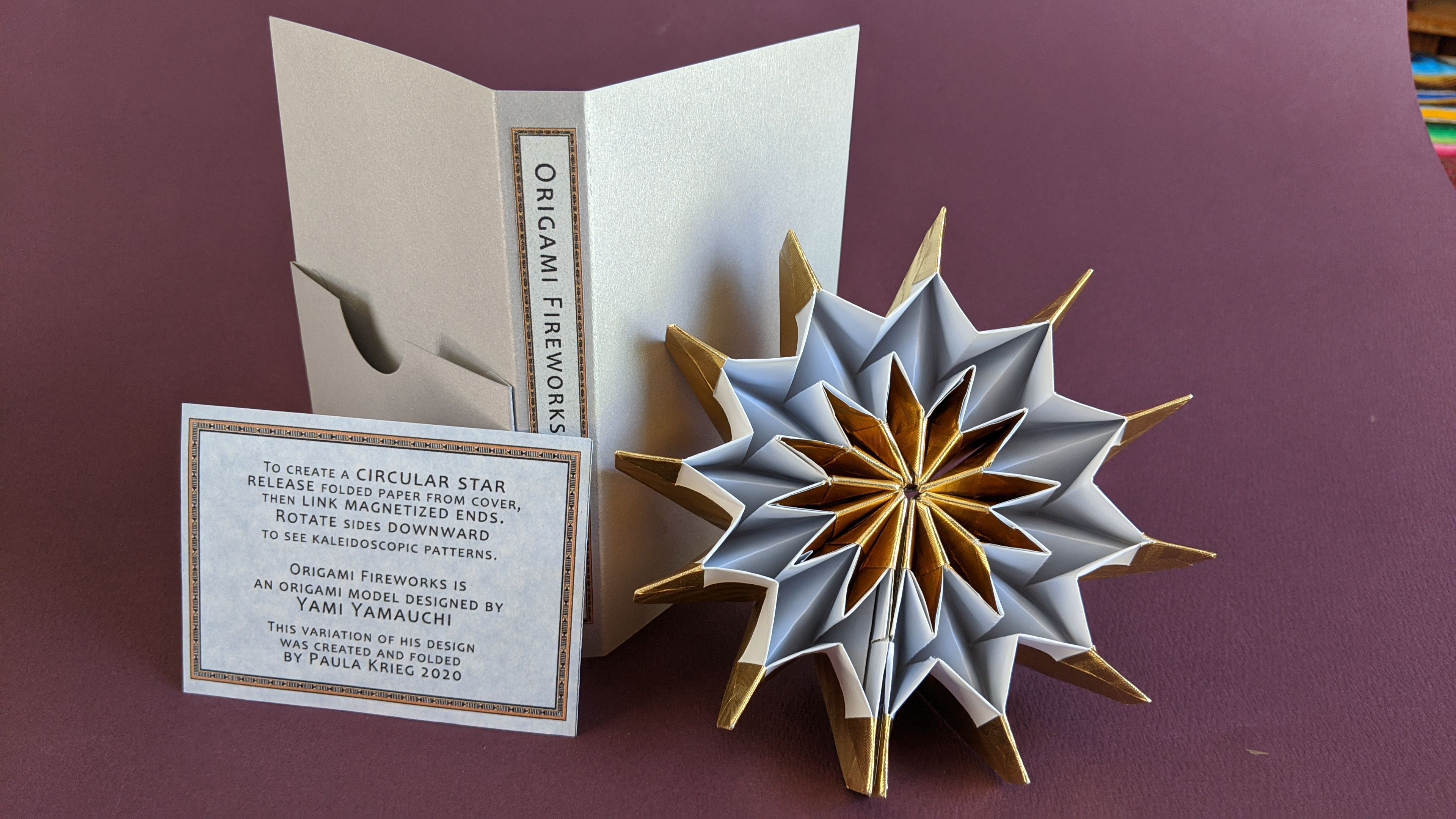 Origami Firework - Yami Yamauchi : 8 Steps (with Pictures ... | 2160x3840