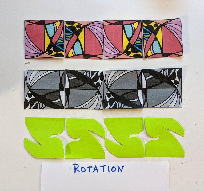 Frieze group, Rotation